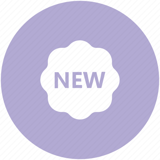 badge, brust, label, new, new offer, new product icon