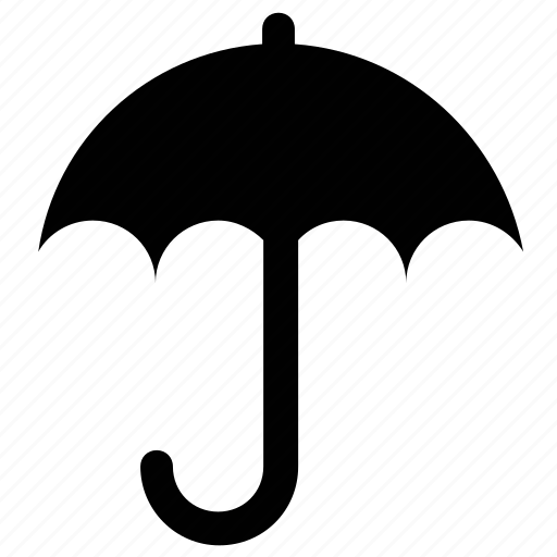 insurance sign, open umbrella, parasol, protection, sunshade, umbrella icon