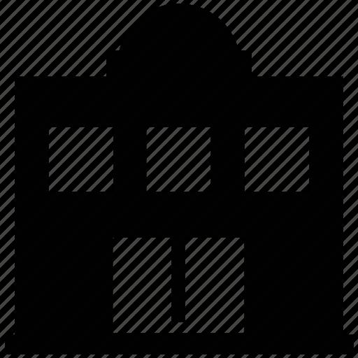 building, building exterior, court building, courthouse, legal building icon