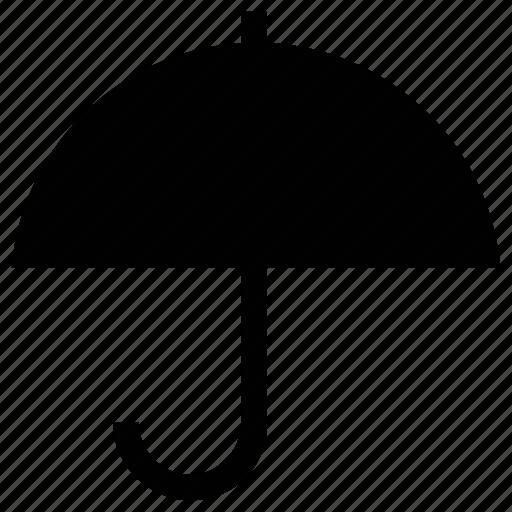 insurance sign, open umbrella, parasol, protection, sunshade, umbrella icon