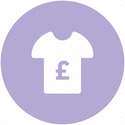 clothes, garment, half sleeves, pound shirt, shirt, sports wear, tee icon