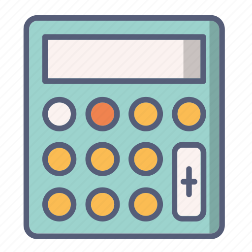 account, calculator, count, plus, price icon
