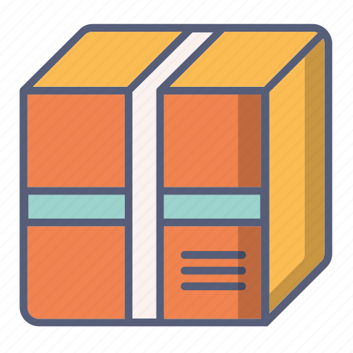 baggage, box, delivery, package, parcel icon