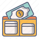 bag, cash, money, pocket, purse, wallet icon