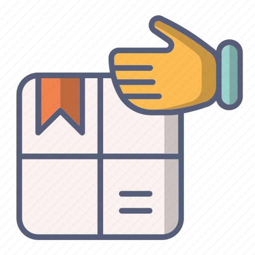 box, delivery, package, post, received icon