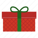 christmas, gift, package, parcel, present icon