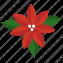 holly, flower, leaf, christmas, mistletoe