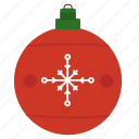 ball, christmas, ornament icon