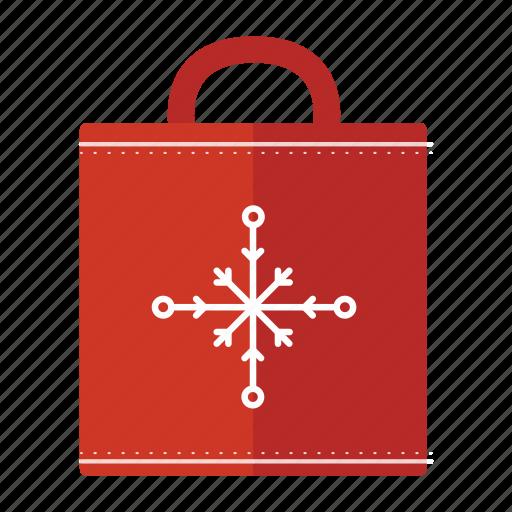 bag, christmas, holiday, shopping icon