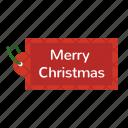 merry christmas, tag, christmas
