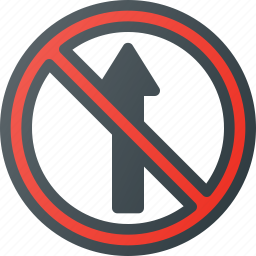 atention, entry, no, road, sign, traffic icon