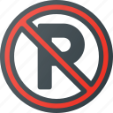 atention, no, parking, road, sign, traffic icon