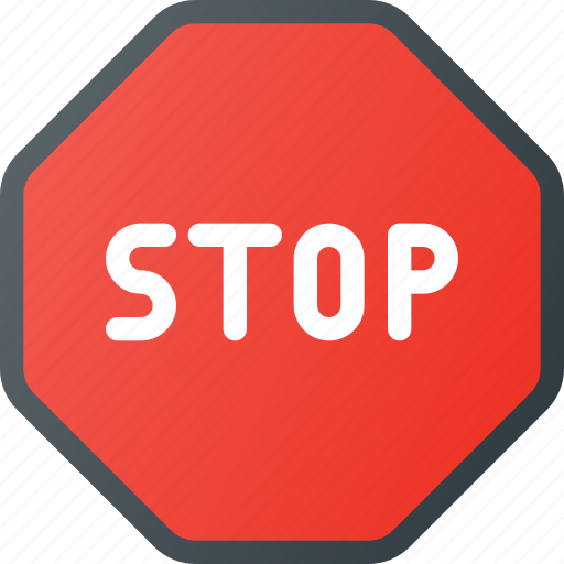 Atention, road, sign, stop, traffic icon - Download on Iconfinder