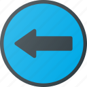 atention, left, road, sign, traffic, turn icon
