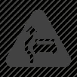 car, overtake, overtaking, road, sign, traffic, transportation icon