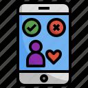 dating, app, phone, love, smartphone