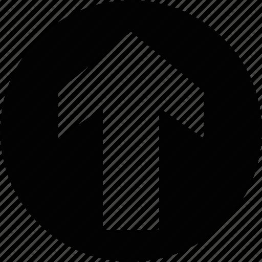 arrow, direction, transit, up icon
