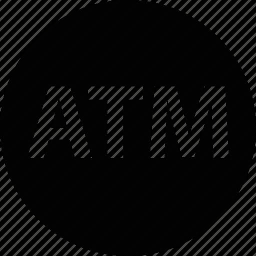 atm, bank, card, cash, credit, money, transit icon
