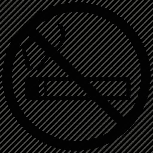 cigarette, no smoking, non smoking, transit icon