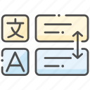language, translate, translation, translator icon