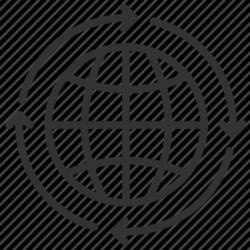 glabal, international, language, translate, translation, translator icon