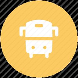 bus, public transport, public vehicle, school bus, transport, transport vehicle, vehicle icon