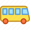 bus, public bus, public transport, tour bus, vehicle icon
