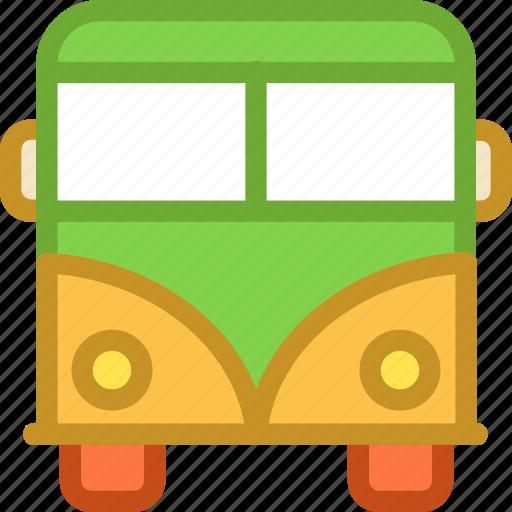 bus, public bus, public transport, tour bus, vehicle icon