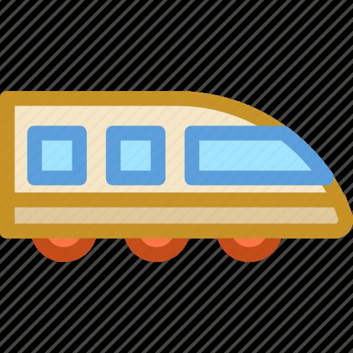 aerotrain, bullet train, high speed, modern train, speed train icon