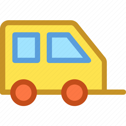 caravan, convoy, living van, transport, vehicle icon