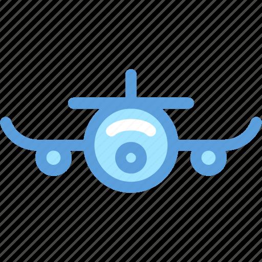 Aeroplane, airplane, flight, passenger plane, plane icon - Download on Iconfinder