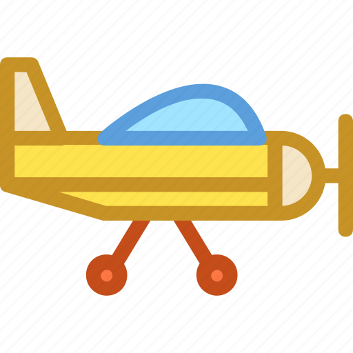 aircraft, fly, jet, plane, training jet icon