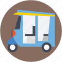 auto, rickshaw, transport, travel icon