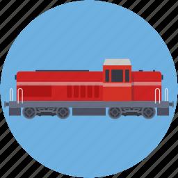 locomotive, train, train bogie, transport, travel icon