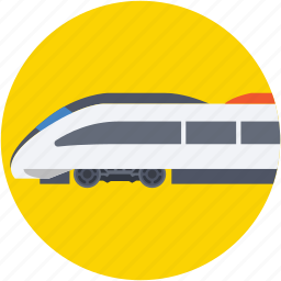 bullet train, locomotive, train, tram, tramway icon