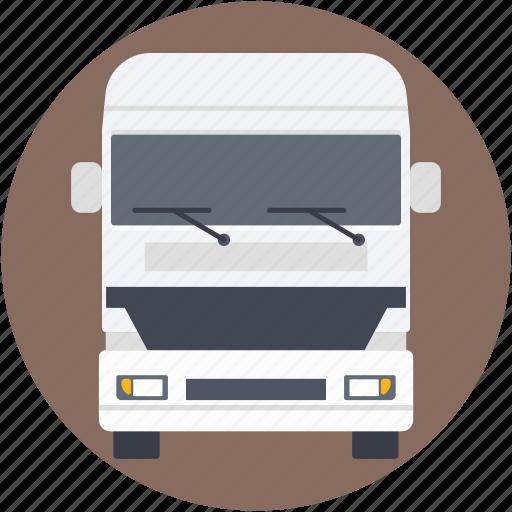 bus, coach, tour bus, transport, vehicle icon