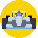 car, formula one, formula one car, racer, racer car icon