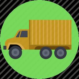 cargo van, logistics, logistics truck, van, vehicle icon