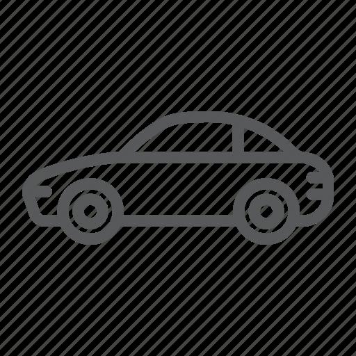 automobile, car, traffic, transport, transportation, vehicle icon