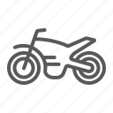 cycle, motorbike, motorcycle, speed, sport, transport, vehicle icon
