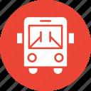 bus, public transport, public vehicle, transport icon