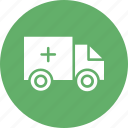ambulance, hospital, medical transport, rescue service icon