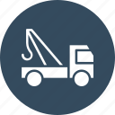carrier, carry, construction, crane icon