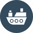 boat, ship, shipment cruise, travel icon
