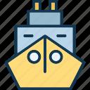 boat, cruise, ship, shipment luxury cruise icon
