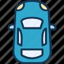 automobile, car, hatchback, luxury icon