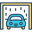auto, automobile, car, car garage icon