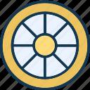 aly rim, car wheel, tire, transport icon