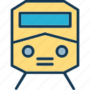 locomotive, subway, train, tram icon