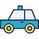 cab, public hire, taxi, taxicab icon